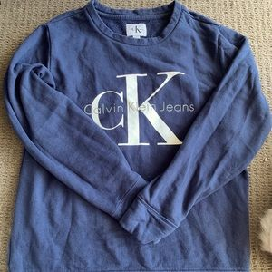 Calvin Klein Navy sweater